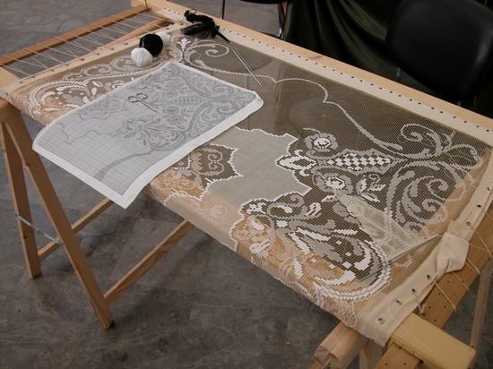 Come costruire un telaio per ricamo modificare una pelliccia - Telaio da tavolo per tessitura a mano ...