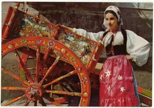 Palermo si parla di abbigliamento tradizionale siciliano for Vestito tradizionale giapponese femminile