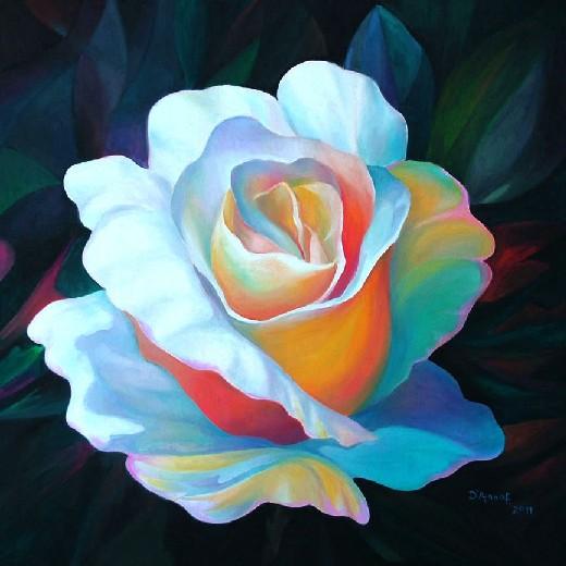 Franco d anna l artista che ha saputo stupirmi quale cefal for Immagini di quadri con fiori
